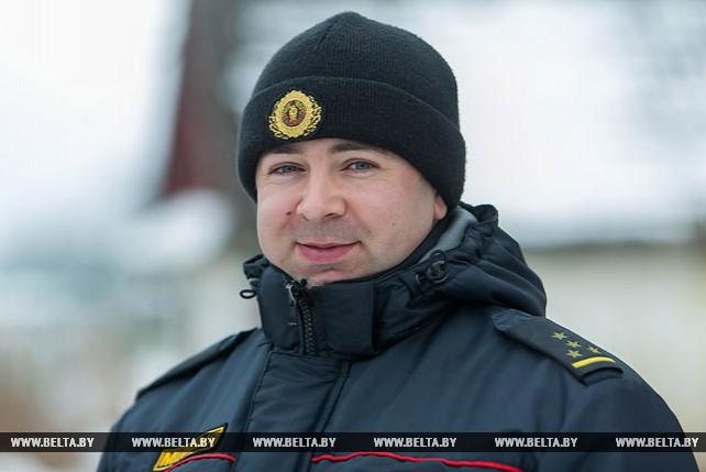 Александр Авдеюк - лучший участковый инспектор Малоритского района