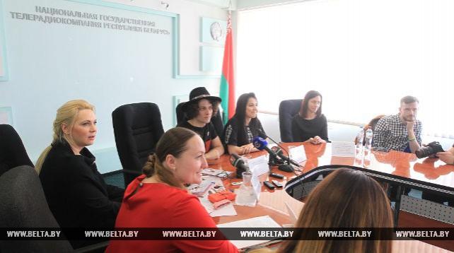 Пресс-конференция NAVIBAND прошла в Белтелерадиокомпании
