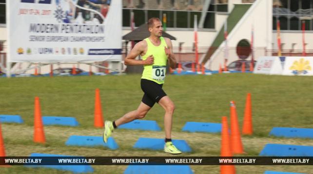 Александр Лесун выиграл чемпионат Европы по современному пятиборью в Минске