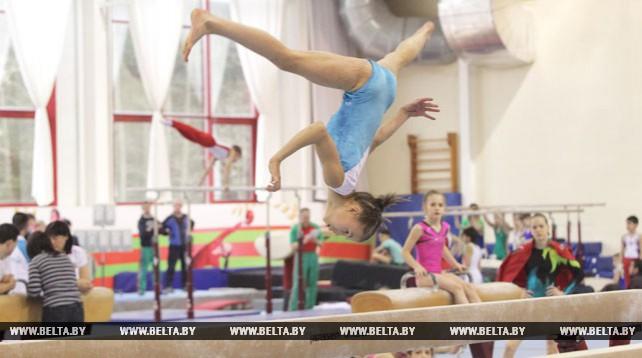 Открытый турнир по спортивной гимнастике на призы Светланы Баитовой проходит в Могилеве