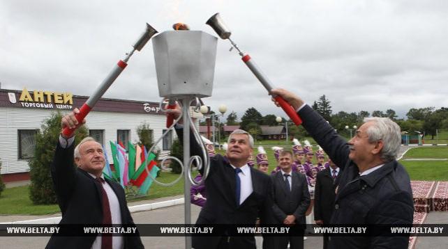 В агрогородке Порплище Докшицкого района запустили природный газ