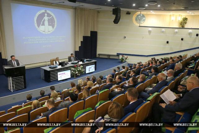 Съезд Белорусского республиканского союза юристов проходит в Минске