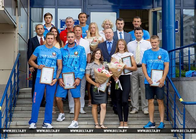 Шамко вручил благодарности брестским спортсменам и тренерам