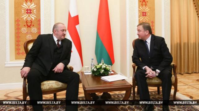 Андрей Кобяков провел переговоры с Георгием Маргвелашвили в узком составе