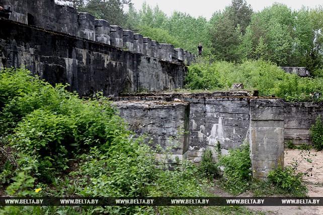 Под Гродно открылся уникальный маршрут по подземным галереям столетнего форта