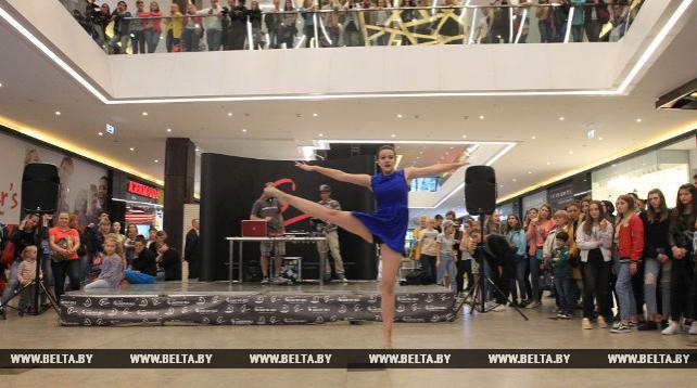 """""""Открытый танцпол"""" состоялся в ТРЦ Galleria Minsk"""