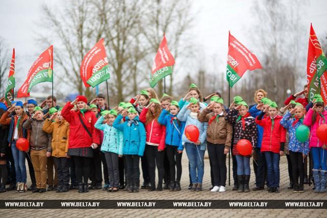 В Минской области прошел общепионерский субботник