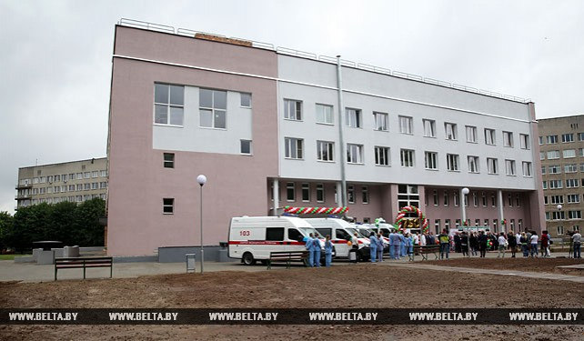 В Могилевской больнице №1 после капремонта открыли неврологическое отделение