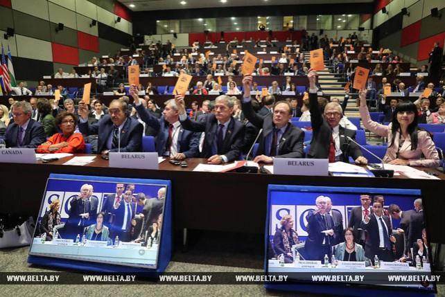 ПА ОБСЕ приняла Минскую декларацию
