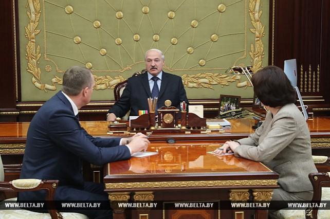 Лукашенко назначил Исаченко губернатором Минской области