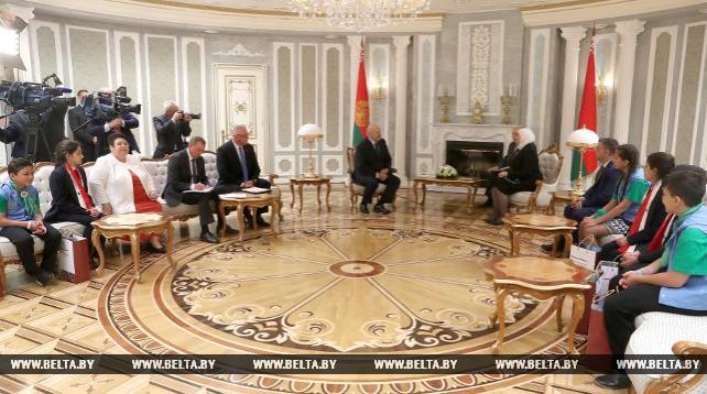Лукашенко встретился с министром социальных вопросов и труда Сирии Римой аль-Кадери