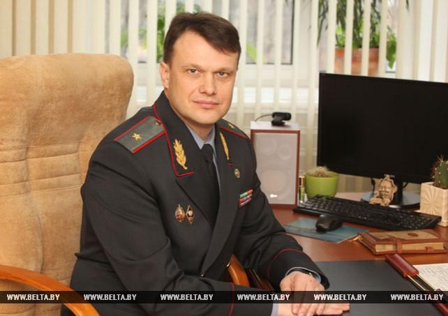 Начальник УВД Могилевского облисполкома Александр Ковальчук