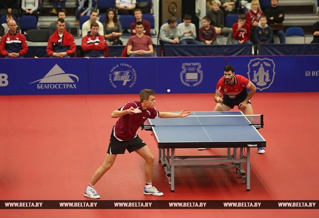 Белорусы уступили хорватам на командном чемпионате Европы по настольному теннису