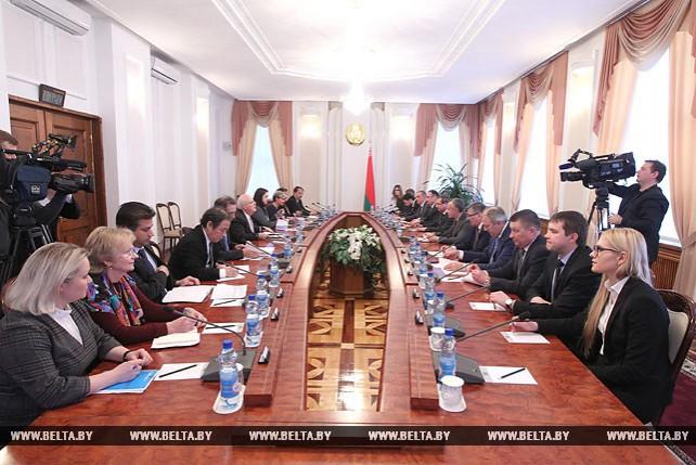 Василий Матюшевский встретился с делегацией Всемирного банка