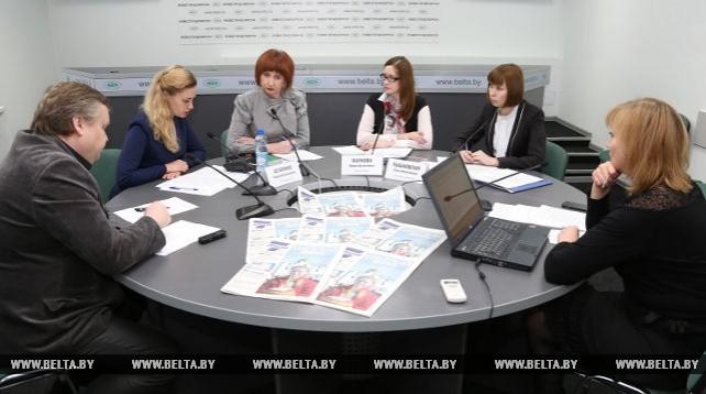 Прямая линия по актуальным вопросам деятельности садоводческих товариществ прошла в пресс-центре БЕЛТА