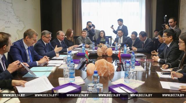 Владимир Зиновский встретился с делегацией Министерства коммерции Китая
