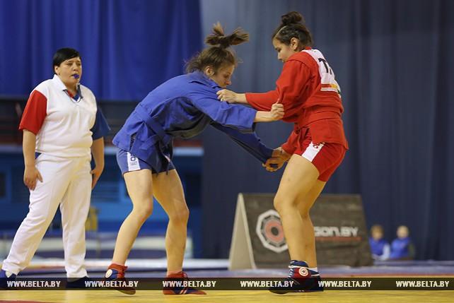 Белорусские самбисты выиграли три золотые награды в первый день международного турнира категории А
