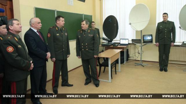 В Белорусской государственной академии связи открыта военная кафедра