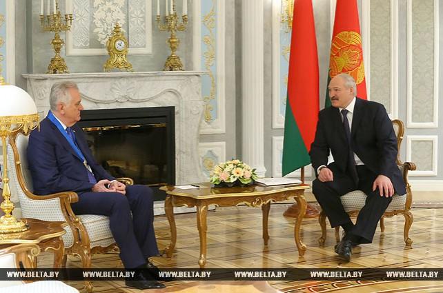 Лукашенко рассчитывает на дальнейшее позитивное развитие белорусско-сербских отношений