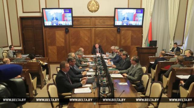 Расширенное заседание Совета Министров прошло в Минске