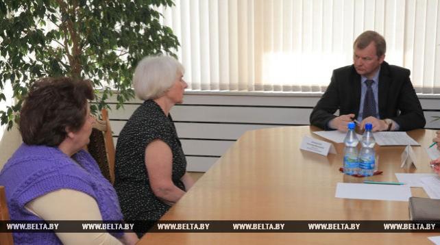 Доманевский провел выездной прием граждан в Шклове