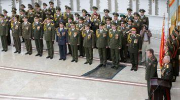 Около ста офицеров-выпускников факультета Генштаба и командно-штабного факультета Военной академии получили дипломы