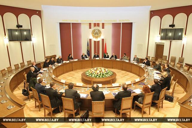 Первое заседание Комитета национальных координаторов Центрально-Европейской инициативы под эгидой белорусского председательства в ЦЕИ в 2017 году