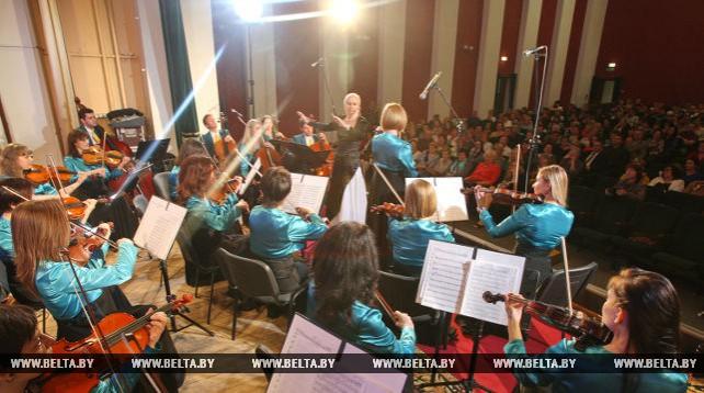 """Гала-концерт белорусской музыки """"Несвижское вдохновение Наполеона Орды"""" состоялся в Несвиже"""
