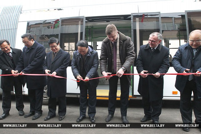 Китайская провинция Сычуань проявляет интерес к производству белорусских электробусов