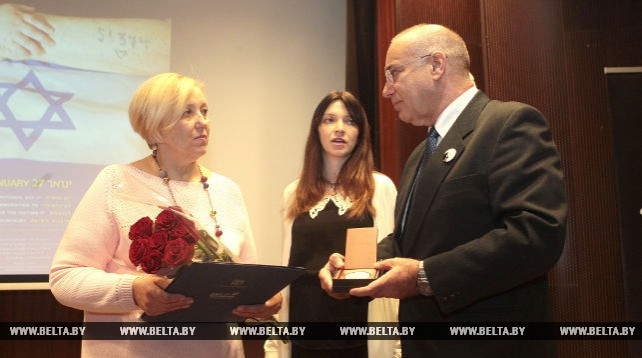 Церемония, посвященная Международному дню памяти жертв холокоста, прошла в музее Великой Отечественной войны