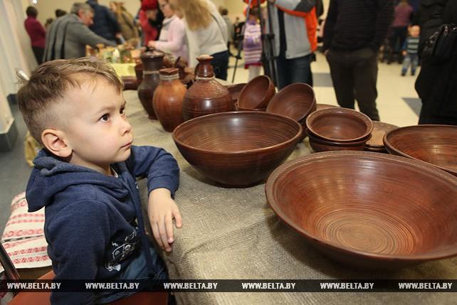 Детский конкурс керамики прошел в Гомеле