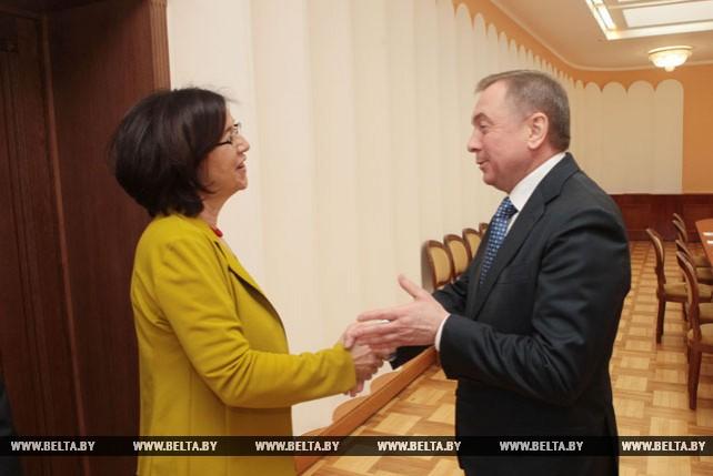 Макей встретился с председателем Парламентской ассамблеи ОБСЕ