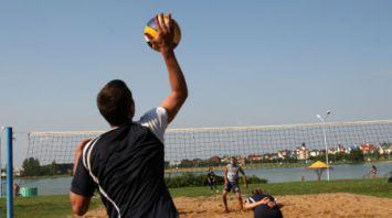 Соревнования по пляжному волейболу среди сотрудников предприятий Минска
