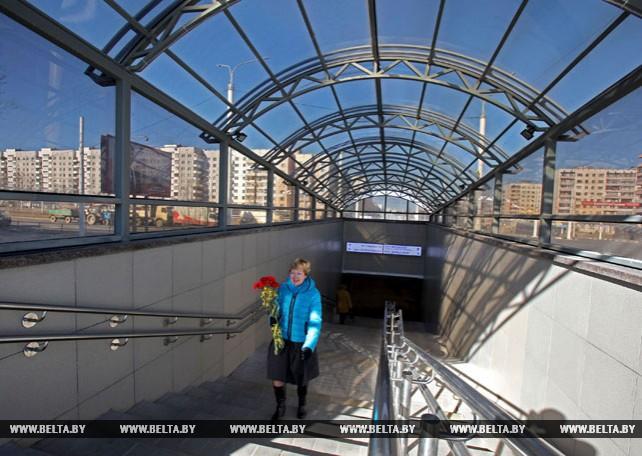 Подземный пешеходный переход на пересечении пр.Московского и ул.Бровки открылся в Витебске