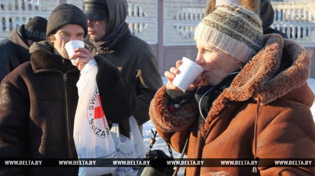 Из-за усилившихся морозов в Витебской области возобновили работу пункты обогрева БОКК