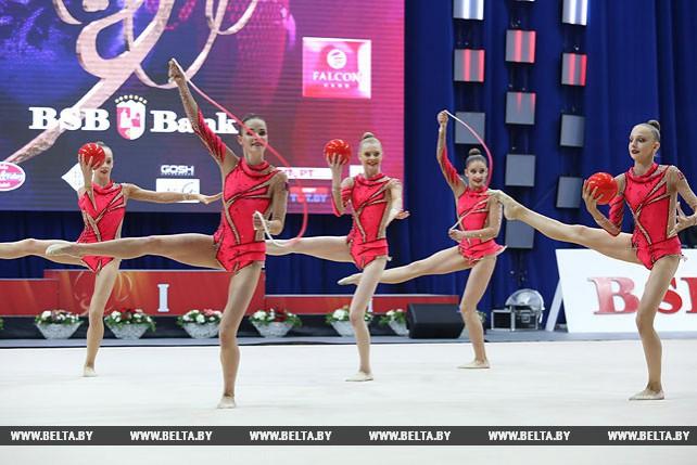 Финальные соревнования этапа Кубка мира по художественной гимнастике прошли в Минске