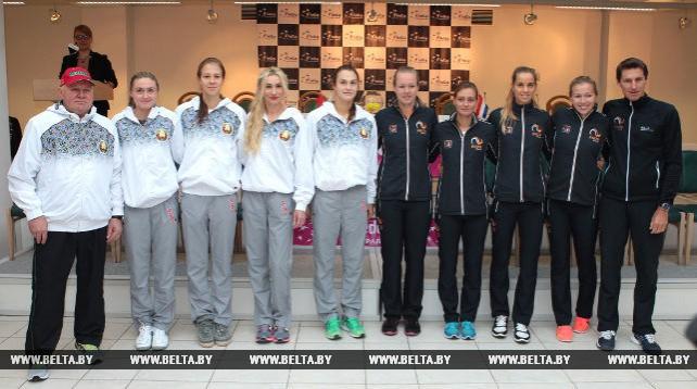 Жеребьевка матча Кубка Федерации между Беларусью и Нидерландами прошла в Минске