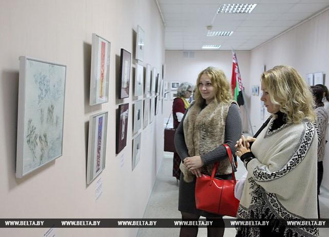 Выставка графики эстонских художников открылась в Витебске