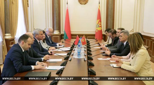 Андрейченко встретился с председателем парламента Черногории