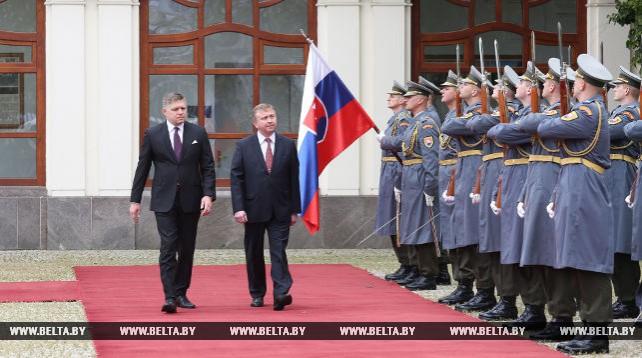 Кобяков встретился с председателем правительства Словакии