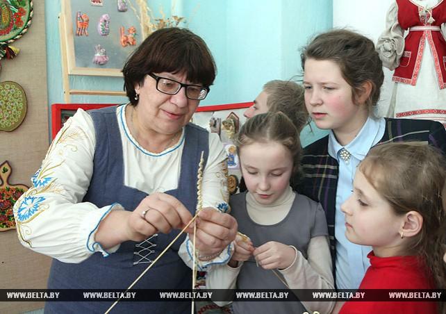 В Краснопольском доме ремесел возрождают старинные промыслы