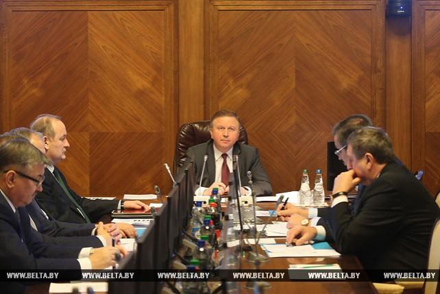 Вопросы развития цифровой экономики рассмотрены на заседании Президиума Совмина