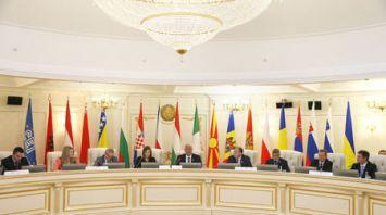 Заседание Парламентского комитета Центрально-Европейской инициативы в Минске
