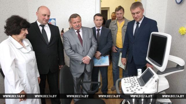 Новый аппарат УЗИ установлен в детской поликлинике Новополоцка