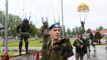 Пресс-тур ко Дню десантников и сил специальных операций стартовал в Витебске
