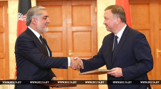 Беларусь и Афганистан подписали соглашение о создании совместного комитета по торговому и экономическому сотрудничеству