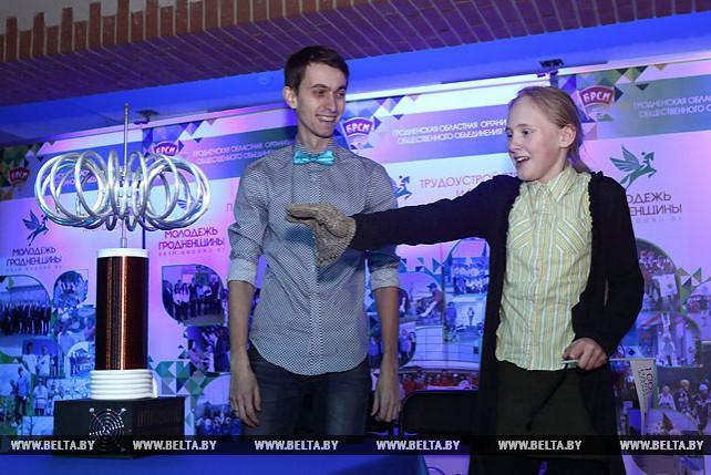 """Шоу технологий представили на областной выставке """"100 идей для Беларуси"""" в Гродно"""