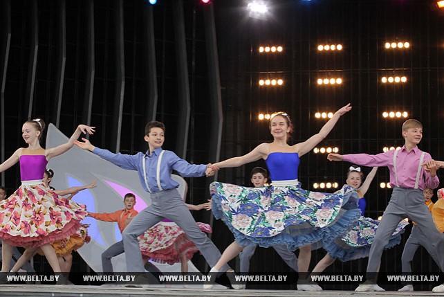 В Летнем амфитеатре в Витебске прошла концертная программа для детей