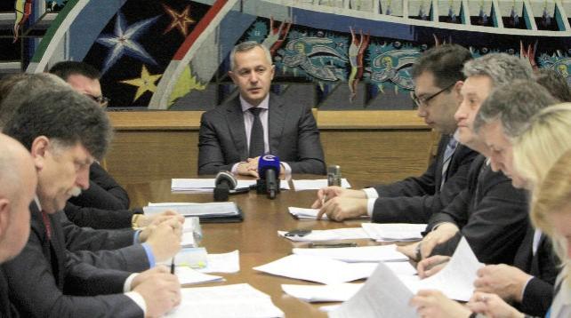 Матюшевский провел рабочую встречу по вопросу системного сокращения количества административных процедур