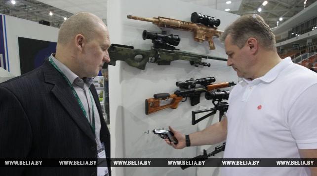 Пистолет белорусской разработки представлен на MILEX-2017